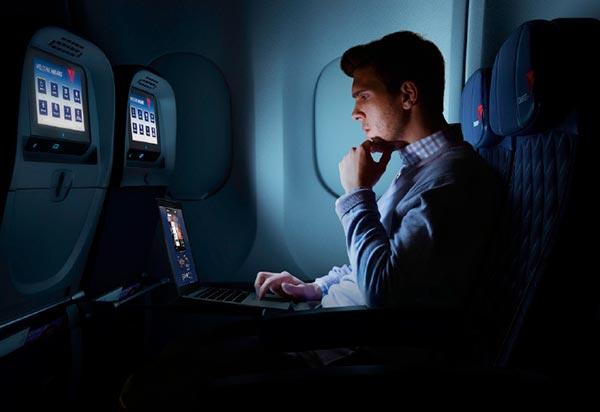 Delta Comfort On-Board Wi-Fi