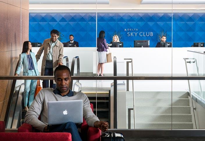Delta Sky Club Wi-Fi